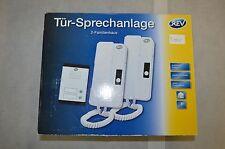 Rev Tür-Sprechanlage für 2-Familienhaus NEU!!! OVP!!! (Typ:AD-1020) (T.002)