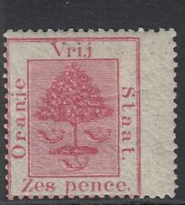 South Africa Orange Free State SG 5 6d rose - mounted mint