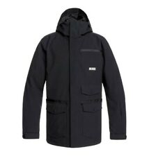 Brand New Mens 2020 DC Shoes Servo Snowboard Jacket Black