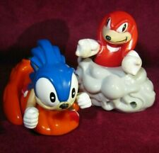 SONIC THE HEDGEHOG & KNUCKLES MCDONALDS 1990s HAPPY MEAL TOYS FIGURES 1993 WORKS
