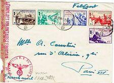 N°6/10-LÉGION DES VOLONTAIRES FRANÇAIS CONTRE LE BOLCHÉVISME-CENSURE NAZIE-1942