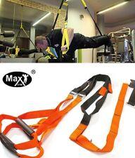 MaxGym® Original Suspension Schlingentrainer Türanker carabiner SlingTraining