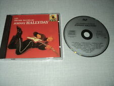 JOHNNY HALLYDAY CD FRANCE LES GRANDS SUCCES DE JOHNNY HALLYDAY