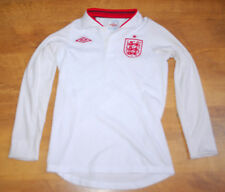 Umbro England 2012/2013 long-sleeved home shirt (For height 134cm)