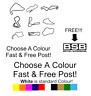BSB race track stickers All Tracks BSB 2019 free sticker decal car van bumper