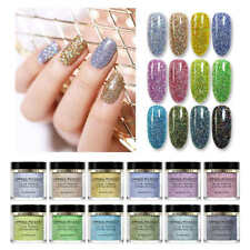 BORN PRETTY 10ml Holographicsss Dipping System Powder Natural Dry Nail Art