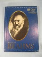 Johannes Brahms Great Men Of Music Time Life Records Box Set Cassettes Book (O)