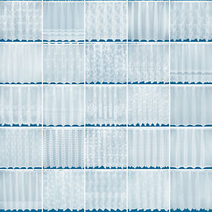 Choice of 25 Net Curtains - Free Postage - Sold By The Metre - First Collection