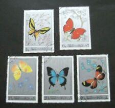 Oman-1972-Butterflies-Full set-Used