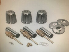 FITS GERBER COMPLETE TUB AND SHOWER 3 VALVE REPAIR AND TRIM KIT