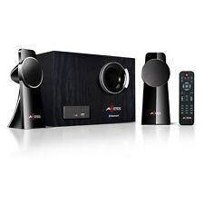 AXESS 2.1 BLUETOOTH WIRELESS MINI ENTERTAINMENT STEREO SYSTEM REMOTE CONTROLNEW