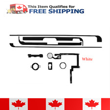 iPad Mini 3 White Home Button + Flex Cable + Brackets + Adhesive Set