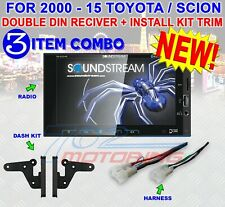 FOR TOYOTA & SCION BLUETOOTH USB CAR RADIO STEREO PKG. OPT. REAR CAM SOUNDSTREAM