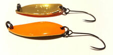 Cucharillas de pesca naranja