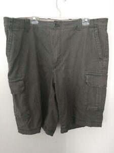 Izod antique wash utility cargo shorts Size:42