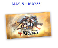 2x MTG Arena Promo Pack Codes FNM at Home MAY15 and MAY22 Email Delivery