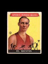 1933 Troy Trojans Basketball Sport King Ed Wachter card~excellent/excellent-mint