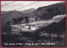 IMPERIA SAN LORENZO AL MARE 02 VILLA Cartolina FOTOGRAFICA viaggiata 1960