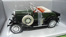 FORD MODEL A 1931 Roadster Cabriolet vert 1/18 MOTOR CITY CLASSICS 20003 voiture