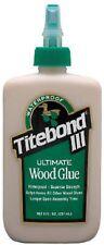 Franklin International 1412 Titebond III Ultimate Wood Glue, 4-Ounces