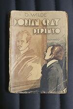 DORIAN GRAY DIPINTO - Oscar Wilde ed. S.A.C.S.E.1936