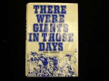 """1976 """"There Were Giants In Those Days"""" by Gerald Eskenazi - NY Giants Football"""