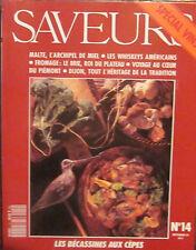 SAVEURS N° 14 - Spécial Vins - septembre 1991.