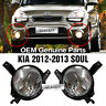 OEM Genuine Parts Fog Light Lamp Assembly + Conector L+R For KIA 2012-2013 Soul