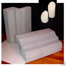 Riserdisplay Case Visuals 4 Pc Stone Finish For Jewelry Or Accessories