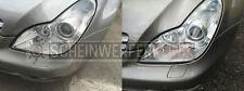 Mercedes S SLK Scheinwerfer Aufbereitung Polieren REPARATUR Instandsetzung L+R