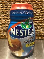 Nestea Lemon Sweet Iced Tea Mix Instant Powdered 45.1 oz Discontinued New Sealed
