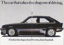 Vauxhall Chevette 2300HS Black Magic 1979 Original UK Sales Brochure No. V2448