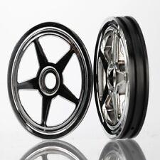 Traxxas 6974 Wheels 5-Spoke Chrome Front (2) Funny Car