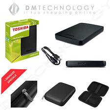 Toshiba Hard Disk esterno 2.5 2tb Canvio Basics B0355395