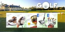 Australia-Golf Min sheet cto-fine used