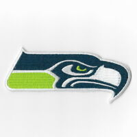 Seattle Seahawks Iron on Patches Embroidered Badge Patch Applique Green Sew FN