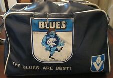 Vintage Carlton Blues VFL Football School Bag