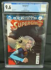 Supergirl #7 (2017) Bengal Variant Cover DC CGC 9.6 A657