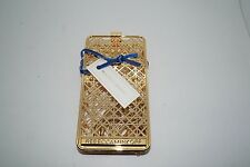 REBECCA MINKOFF Gold Cage iPhone 6 Phone Sleeve Crossbody Case  w/ Box
