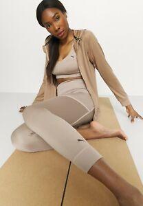 BNWT Puma Studio Premium High Waist 7/8 Leggings Amphora Medium