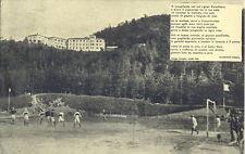 Pontepetri Albergo Paradiso Pistoia partita campo sportivo / stadio - fp vg.1933