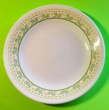 Corelle Corning USA Sunshine Yellow Flowers Green Leaf Dessert Pie Salad Plate