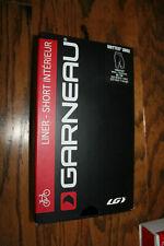 Garneau Drytex 2002 Black Cycling Liner Shorts P/N 1054217  Men's Size 2XL
