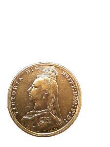 Full gold sovereign queen victoria