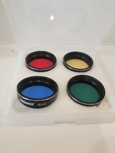 """Telescope Planet Colour Filter Set 1.25"""""""