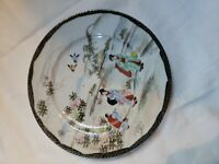 Vintage Japan Japanese Asia Painted Plate Oriental Small Vintage Asian