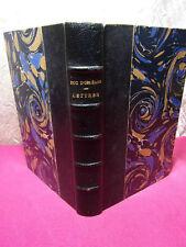DUC D'ORLÉANS / LETTRES 1825-1842  publiées par ses fils 1889