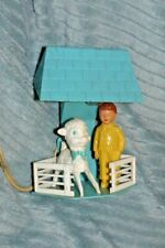 Rare Vintage 1940s Hard Plastic Children'S Lamp Works Irwin?