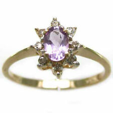 STUNNING!!.60 CARAT DIAMOND & AMETHYST Ring SALE £ NO RES -