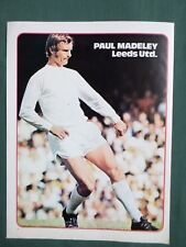 PAUL MADELEY - LEEDS UNITED  - 1  PAGE PICTURE - CLIPPING/CUTTING